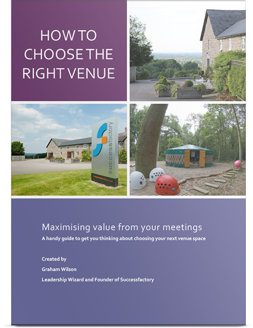 How to Choose The Right Venue Front Cover