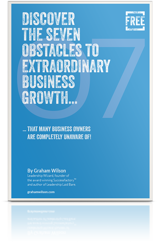 Seven Obstacles to Business Growth - The Success Factory Cover
