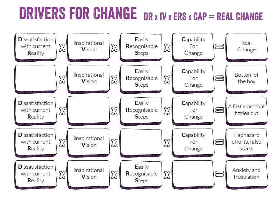 Drivers For Change diagram