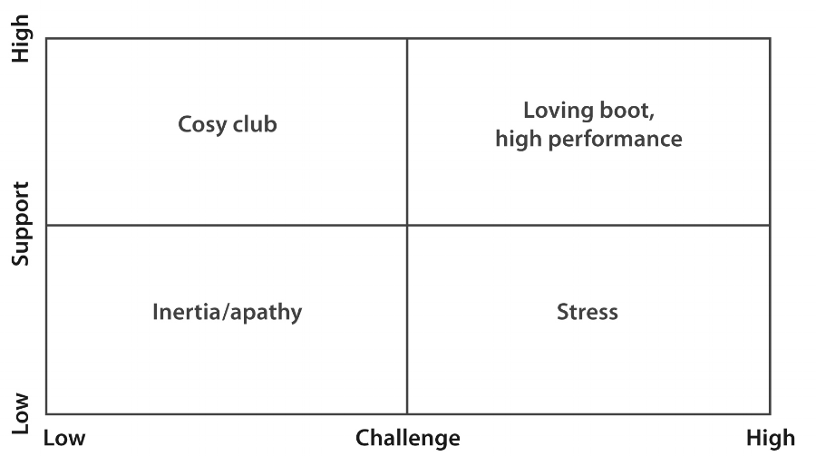 Challenge vs Support Framework
