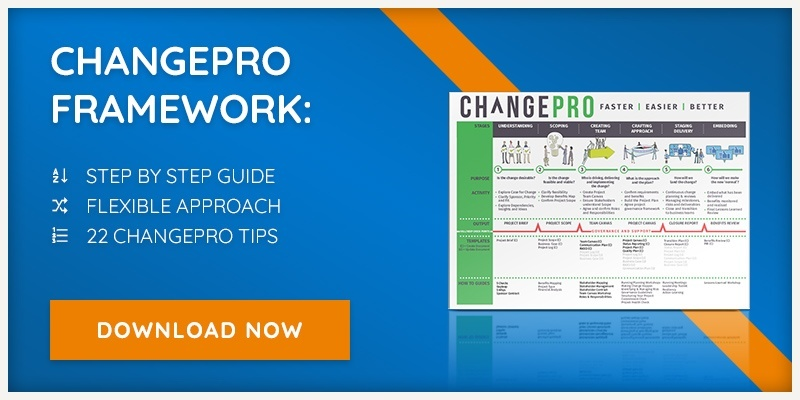 Download our free ChangePro Framework.