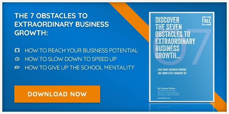 Download our free eBook - The Seven Obstacles to Extraordinary Business Growth.