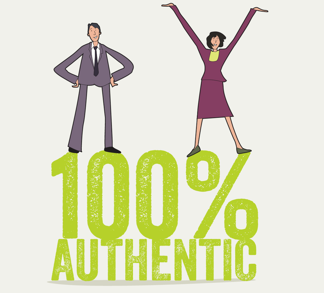 Great Leadership is 100% Authentic