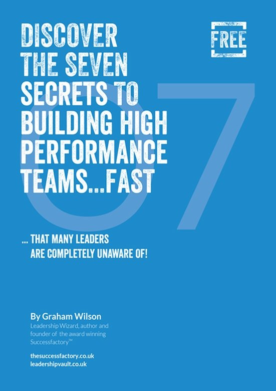 7 Secrets to High Performing Team Front Cover